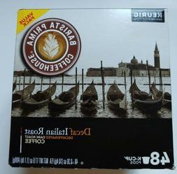 Barista Prima Keurig Decaf Italian Dark Roast Genuine K-Cups