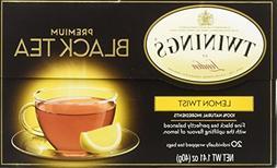 Twinings Premium Black Tea Lemon Twist -- 20 Tea Bags