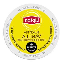 Lipton Black Tea Vanilla Tea 24 to 144 Keurig Kcups Pick Any