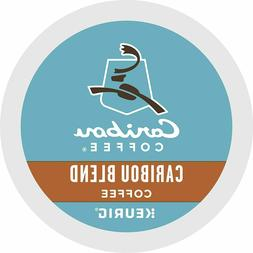 Caribou Coffee Single-Serve K-Cup Pod, Caribou Blend Medium