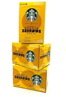 Starbucks Blonde Sunrise Blend Coffee Limited Edition 30 K-C