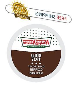 Krispy Kreme Bold Dark Roast Keurig Coffee 24 K-cups