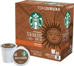 Starbucks Breakfast Blend Coffee 16 to 96 Count Keurig K cup