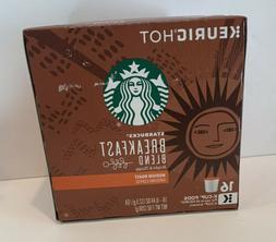 Starbucks Breakfast Blend Medium Roast Coffee 16 Ct Keurig K