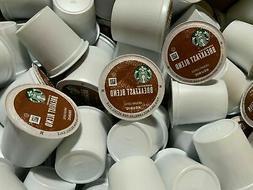Starbucks Breakfast Blend Medium Roast Coffee K-Cups  BBD MA