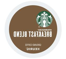 Starbucks Breakfast Blend Medium Roast Ground Coffee K-Cup P