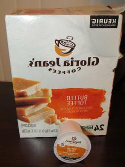 Butter Toffee, Medium Roast - Gloria Jean's Coffee - Box of
