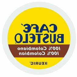 Cafe Bustelo 100% Colombian Medium Roast Coffee Keurig K-Cup