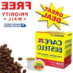 Keurig Cafe Bustelo Coffee Espresso K-Cups Cuban  BBD Nov, 2