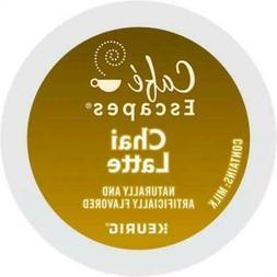 Café Escapes Chai Latte, Single-Serve Keurig K-Cup Pods, 24