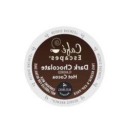 Cafe Escapes Dark Chocolate Hot Cocoa Keurig K-Cups 96-Count