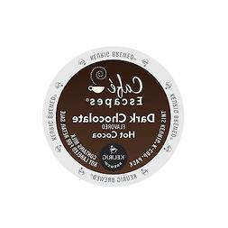 Cafe Escapes Dark Chocolate Hot Cocoa Keurig K-Cups 24-Count