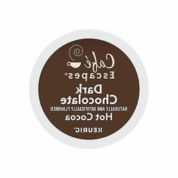 Cafe Escapes Dark Chocolate Hot Cocoa, Keurig K-Cups, 72 Cou
