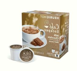 Cafe Escapes Milk Chocolate Hot Cocoa Keurig K-Cups 12 Pods