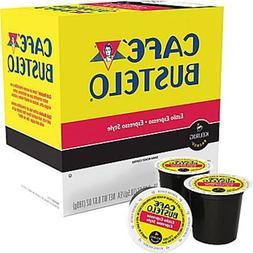 Cafe Bustelo Espresso Dark Roast Coffee Keurig K-Cups - 24 C