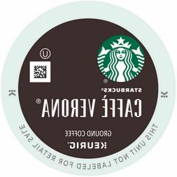 Starbucks Cafe Verona Coffee K-Cups Pack 24/Box 11067987