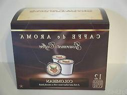 Caffe de Aroma Southern Pecan flavored 12 Single Serve K-Cup