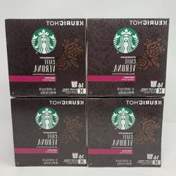 Starbucks CAFFE VERONA Dark Roast Coffee K-Cups 64 ct Best B