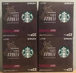 Starbucks Caffè Verona Dark Roast Ground Coffee K Cups 128