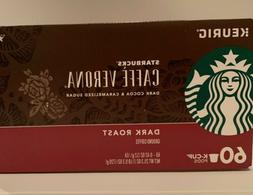 Starbucks Caffe Verona Dark Roast K-Cups • 60 Count • BB