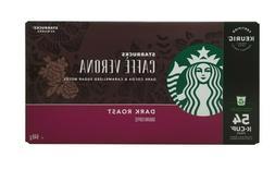 Starbucks Cafe Verona Dark Roast K-cups 54 count - JUN 2020