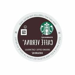Starbucks Caffe Verona K-Cups Keurig 96 Count Fresh 5/30/19