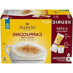 Gevalia Cappuccino K Cup Pods and Froth Packets 36 Count 6