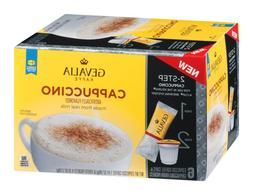 Gevalia Cappuccino K Cups with Froth Packets, 5.6 OZ