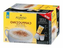Gevalia Cappuccino K Cups with Froth Packets 5.6 OZ