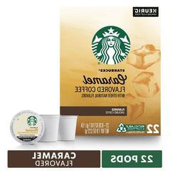 Starbucks Caramel Coffee 16 to 96 Count Keurig K cups Pick A