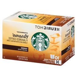 Starbucks Caramel Flavored Coffee Keurig K-Cups 10 Count