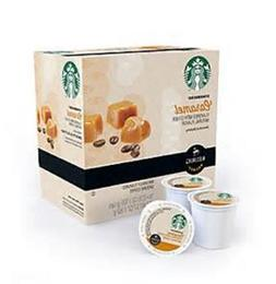 Starbucks Caramel Light Roast Coffee Keurig K-Cups 24 Count