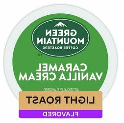 Green Mountain Caramel Vanilla Cream Medium Roast Coffee K-C