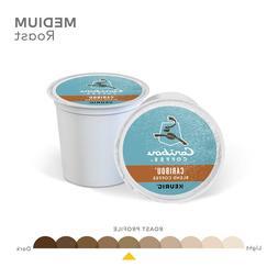 Caribou Coffee Caribou Blend, Keurig K-Cup Pod, 18, 36, 72 K