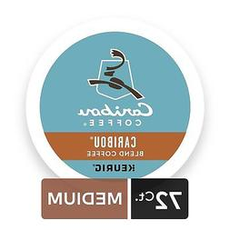 Caribou Coffee Caribou Blend Medium Roast K-cups 6 Boxes of