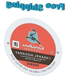 Caribou Caramel Hideaway Coffee 192 Count Keurig K-Cups