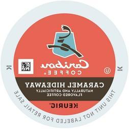 Caribou Caramel Hideaway Coffee 16 to 112 Count Keurig K cup