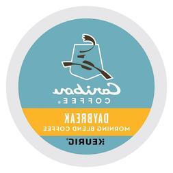 Caribou Daybreak Morning Blend Coffee 24 to 144 Keurig K cup