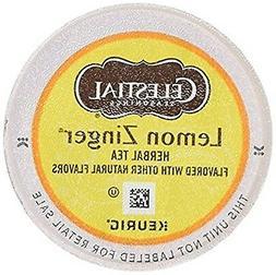 Celestial Lemon Zinger Tea, Single Serve Tea K-Cups, 48-Coun