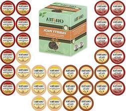 Cha4TEA 36 K Cups Tea Variety Sampler Black Tea English Brea