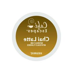 Cafe Escapes Chai Latte, Keurig K-Cup Pod, 48 Count