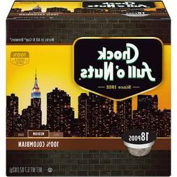 Chock Full O' Nuts 100% Colombian Coffee 18 to 144 Keurig K