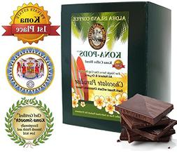 Chocolate Flavored Kona Coffee Blend, Soft Coffee Pods for S