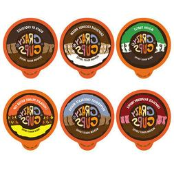 Crazy Cups Chocolate Lovers' Flavored Coffee Single Cups For