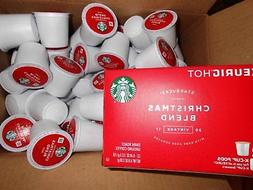 Starbucks Christmas Blend 2020 K Cups STARBUCKS CHRISTMAS BLEND VINtage 100 k cups read