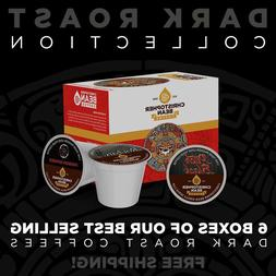 Christopher Bean Coffee SINGLE CUP K Cups DARK ROAST COLLECT
