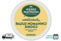 Green Mountain Cinnamon Sugar Cookie Keurig Coffee 18 Count