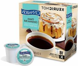 Cinnabon Classic Cinnamon Roll Coffee 18 to 144 Keurig K cup