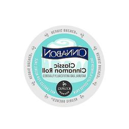 Cinnabon Classic Cinnamon Roll Coffee Keurig K-Cups 96-Count