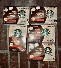 Starbucks Classic Hot Cocoa Chocolate Keurig K-Cups 10 count
